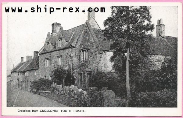 "Croscombe Youth Hostel - ""Greetings From"" postcard"